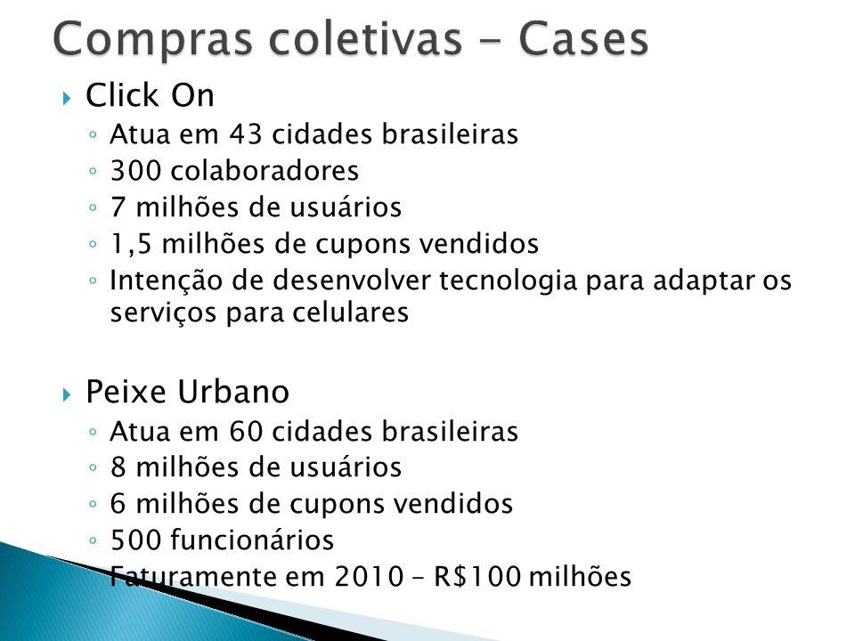 Compras coletivas - Cases