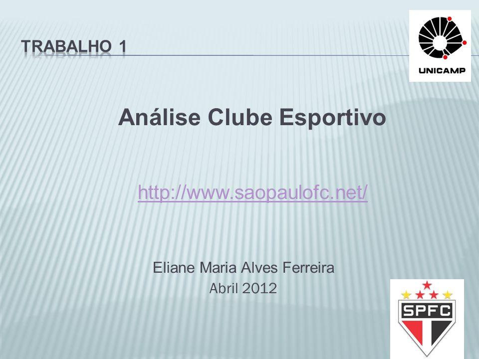 Análise Clube Esportivo