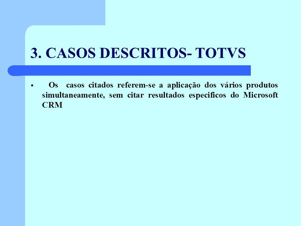 3. CASOS DESCRITOS- TOTVS