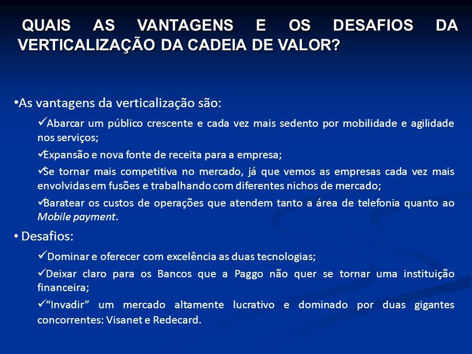 QUAIS AS VANTAGENS E OS DESAFIOS DA VERTICALIZAÇÃO DA CADEIA DE VALOR