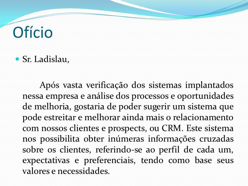 Ofício Sr. Ladislau,