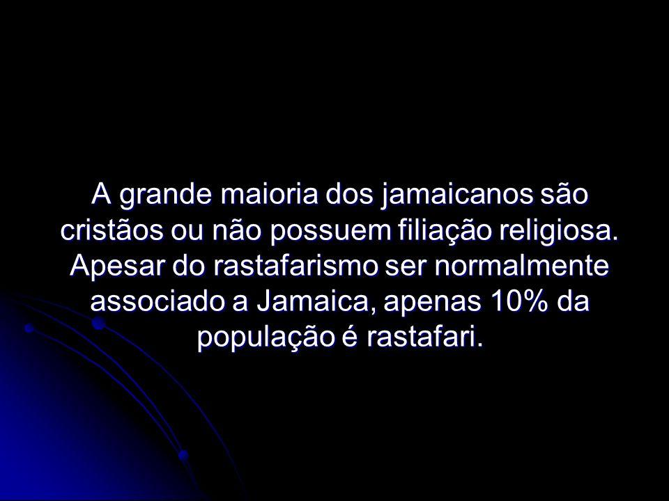 A grande maioria dos jamaicanos são cristãos ou não possuem filiação religiosa.