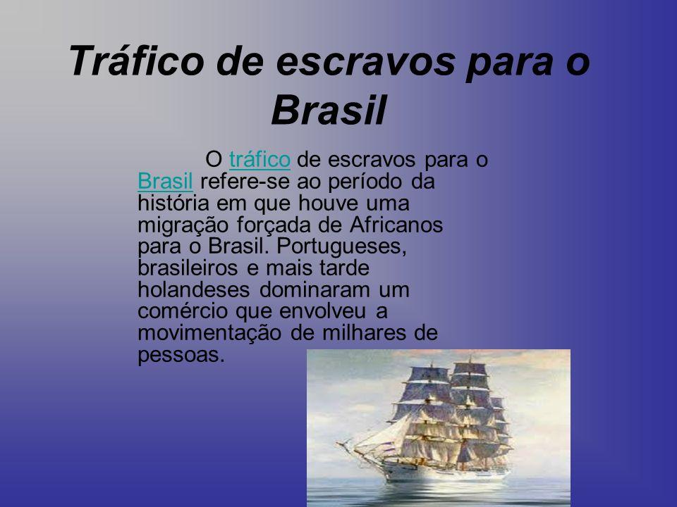 Tráfico de escravos para o Brasil