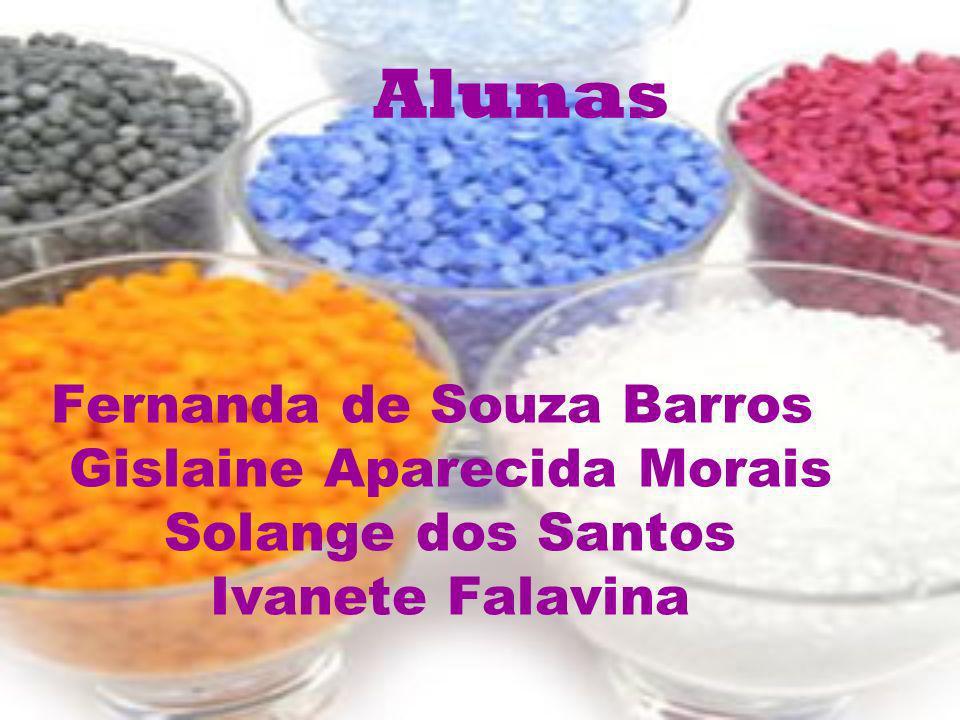 Alunas Fernanda de Souza Barros Gislaine Aparecida Morais Solange dos Santos Ivanete Falavina