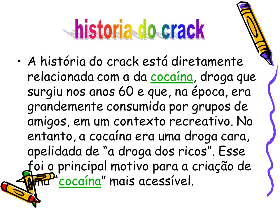 historia do crack
