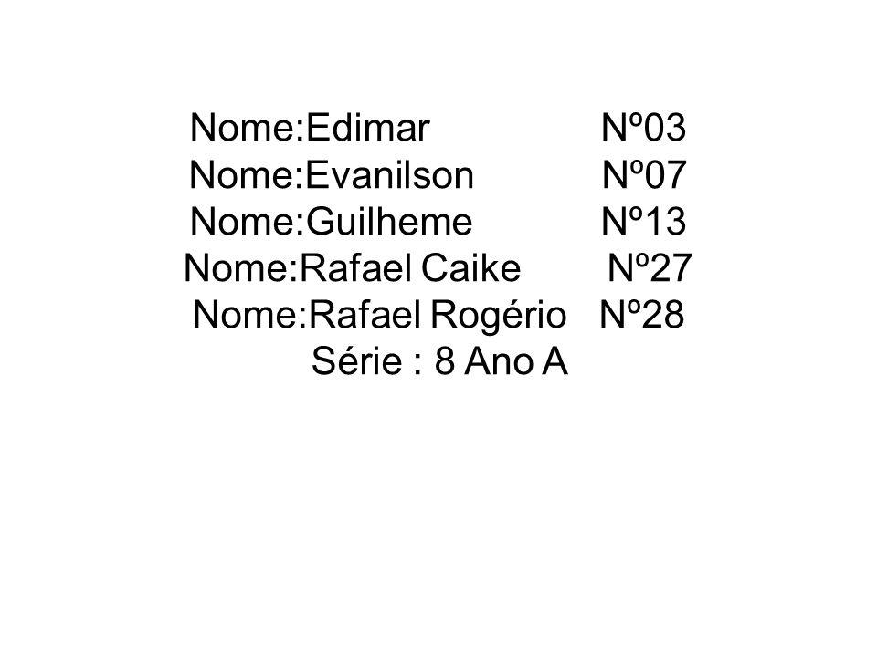 Nome:Rafael Rogério Nº28