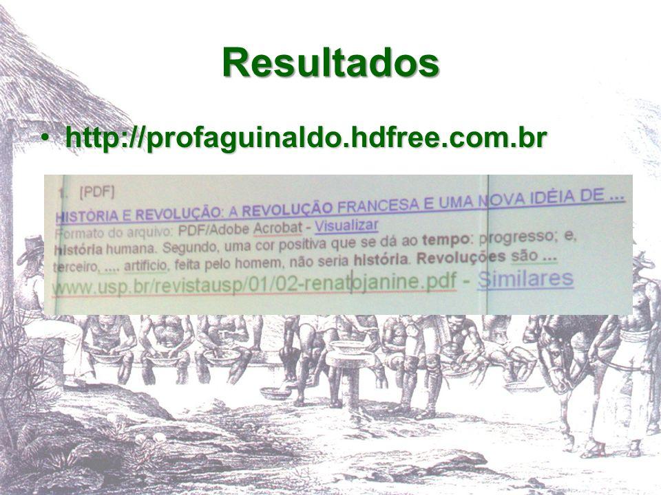 Resultados http://profaguinaldo.hdfree.com.br