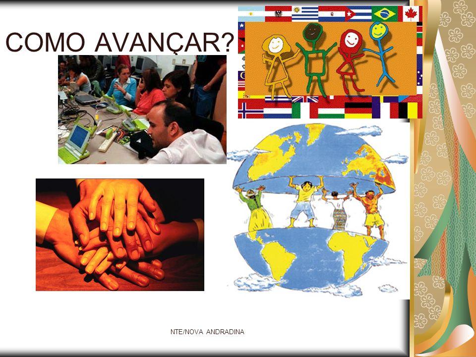 COMO AVANÇAR NTE/NOVA ANDRADINA