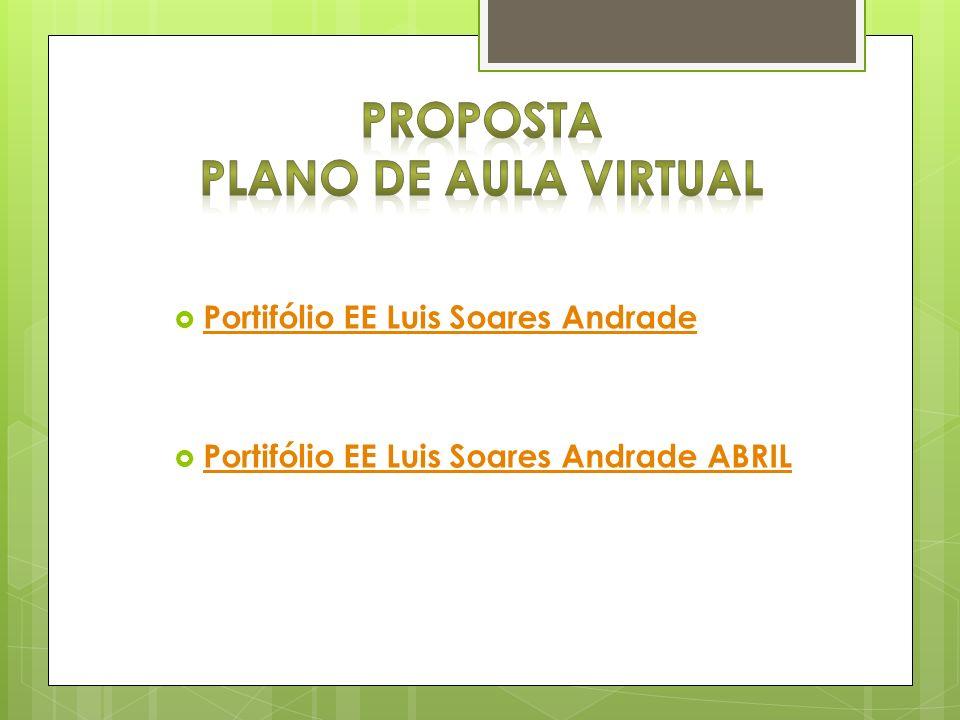 Proposta Plano de Aula Virtual