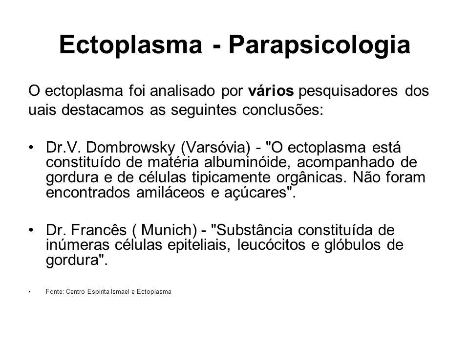 Ectoplasma - Parapsicologia