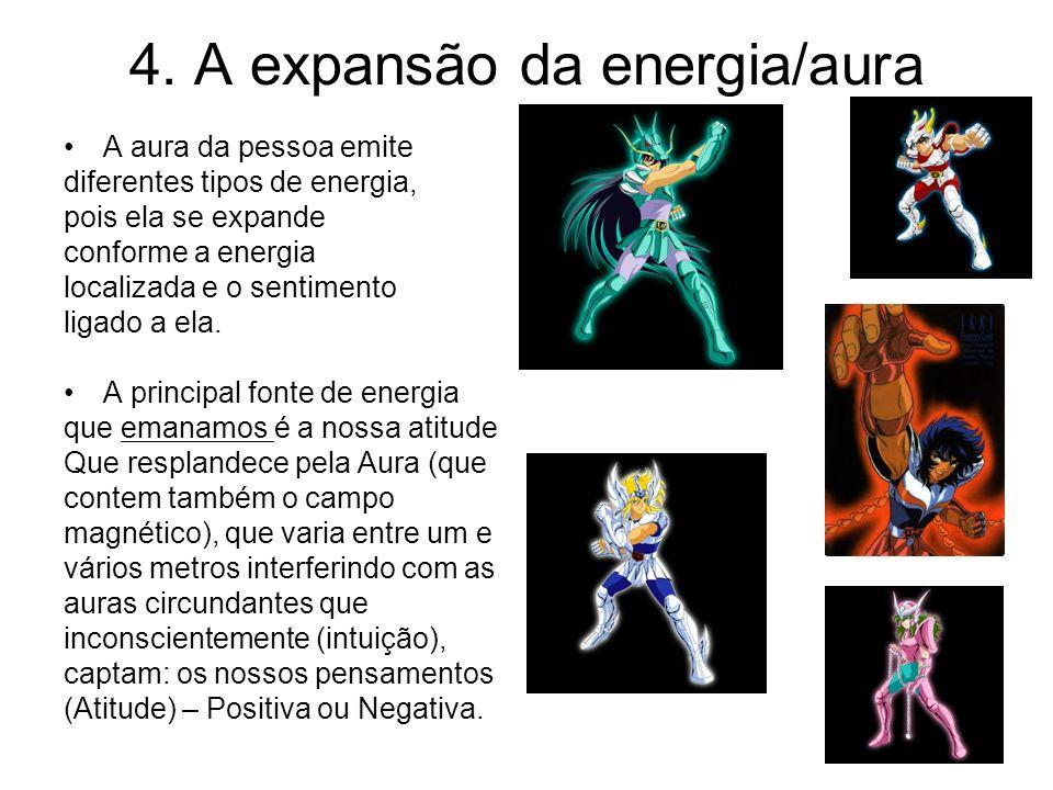 4. A expansão da energia/aura