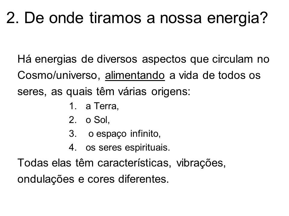 2. De onde tiramos a nossa energia