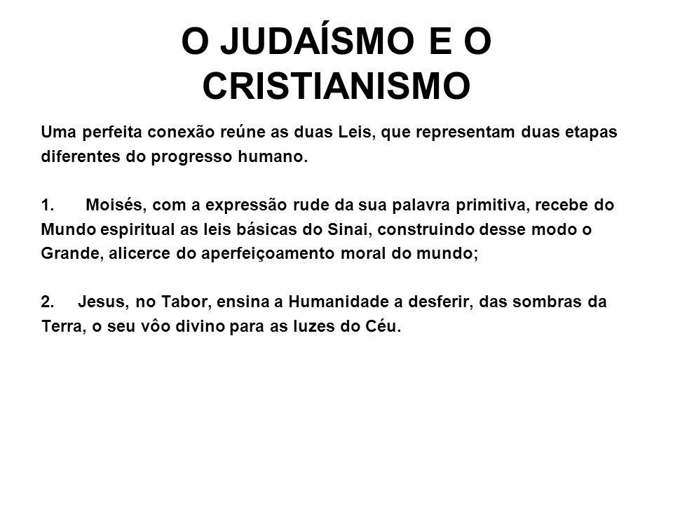O JUDAÍSMO E O CRISTIANISMO