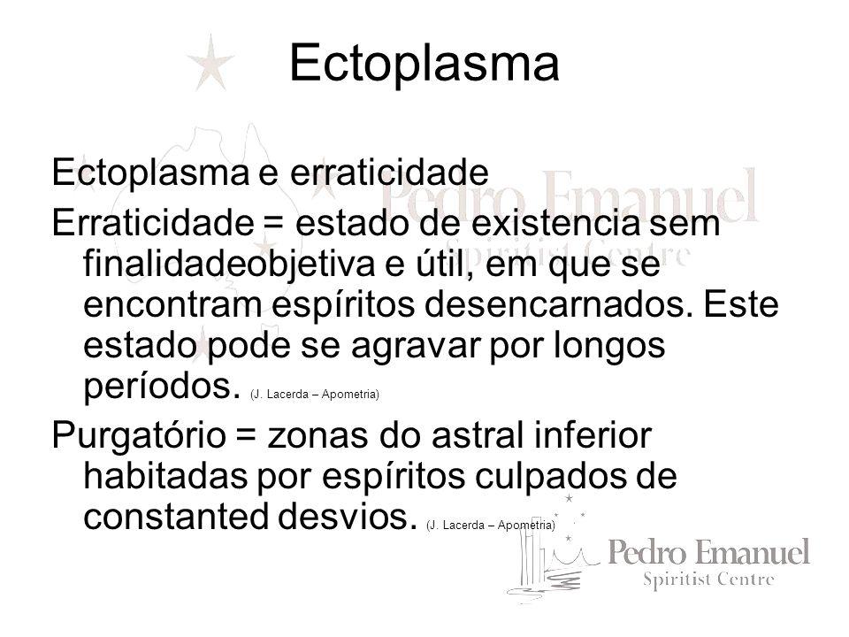 Ectoplasma Ectoplasma e erraticidade