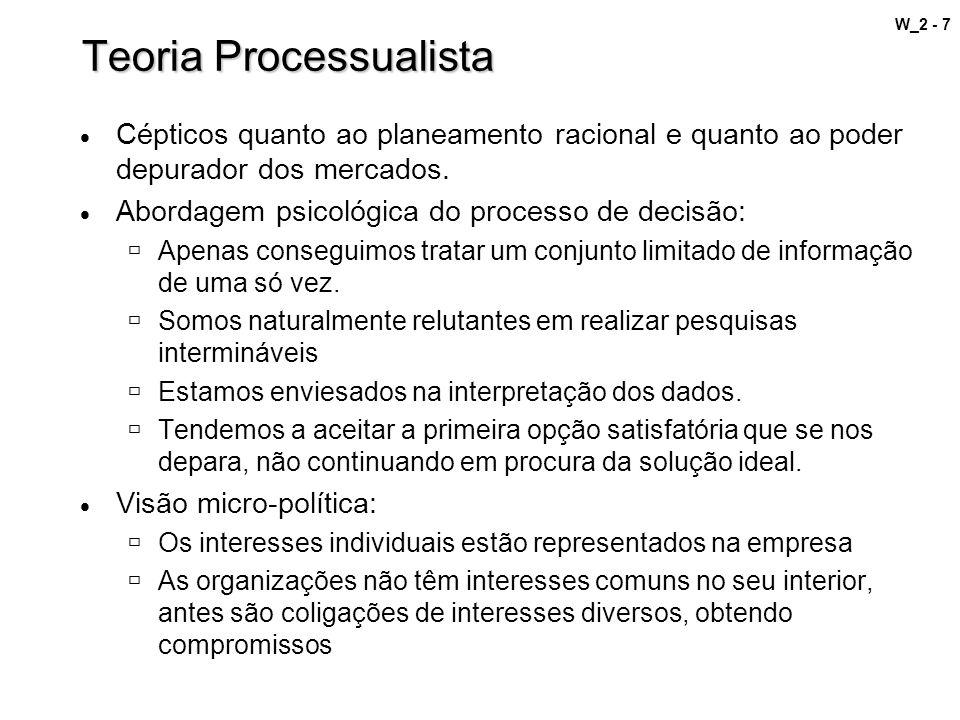 Teoria Processualista