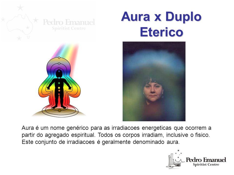 Aura x Duplo Eterico