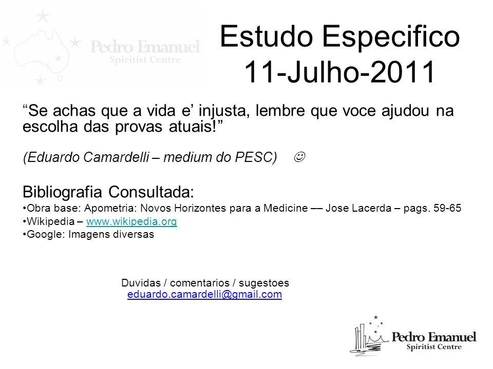 Estudo Especifico 11-Julho-2011