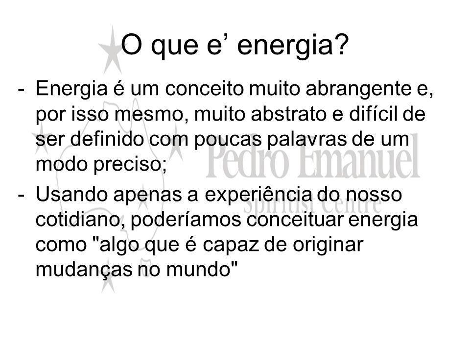 O que e' energia