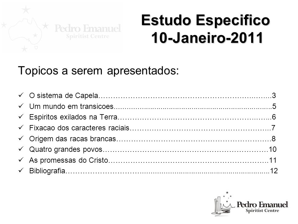 Estudo Especifico 10-Janeiro-2011