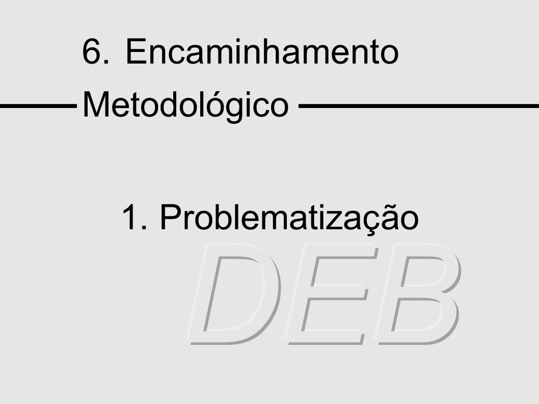 6. Encaminhamento Metodológico