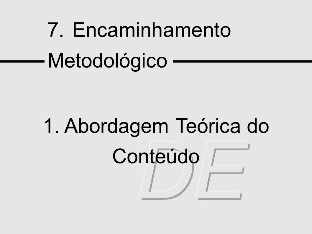 1. Abordagem Teórica do Conteúdo