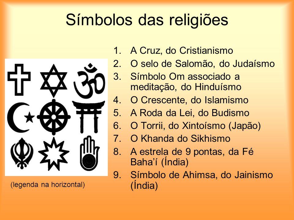 Símbolos das religiões