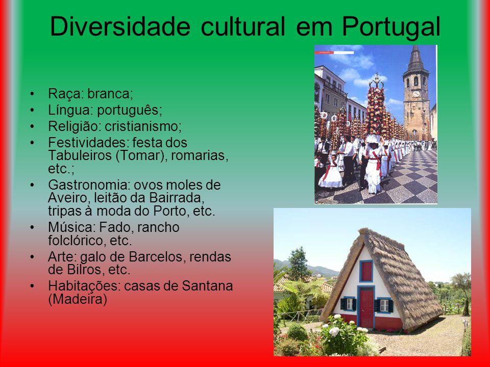Diversidade cultural em Portugal