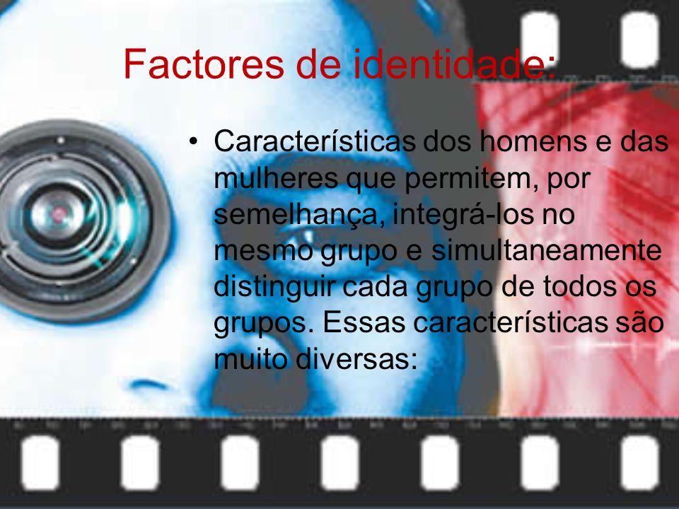 Factores de identidade: