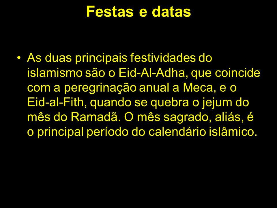 Festas e datas