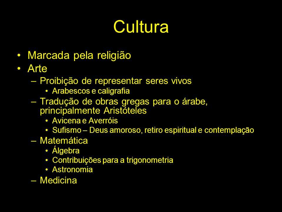 Cultura Marcada pela religião Arte