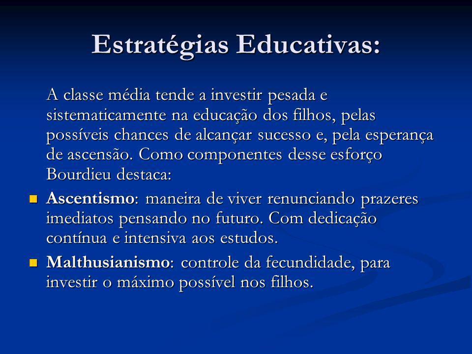 Estratégias Educativas: