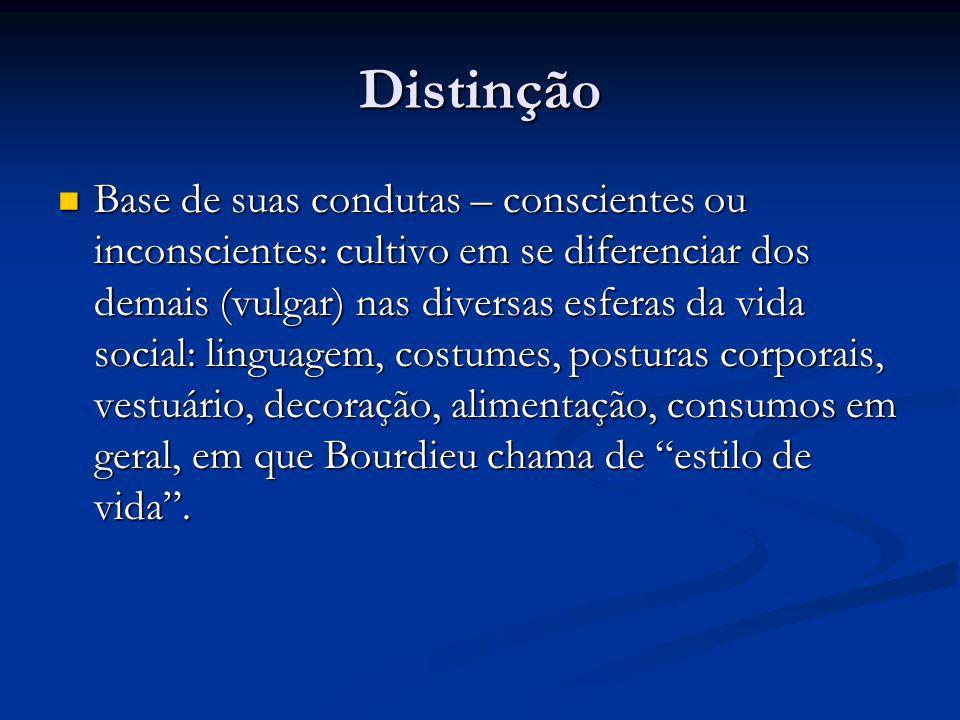 Distinção
