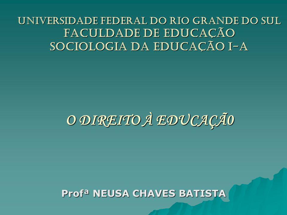 Profª NEUSA CHAVES BATISTA