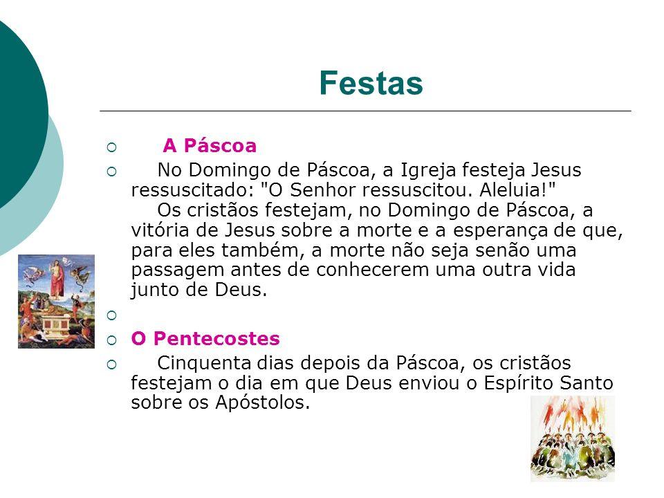 Festas A Páscoa.