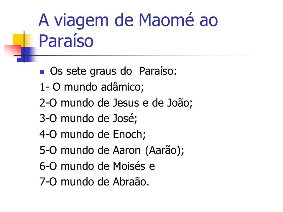 A viagem de Maomé ao Paraíso
