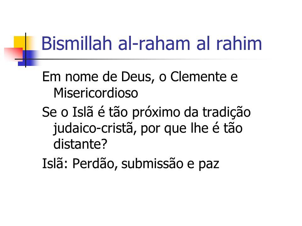 Bismillah al-raham al rahim
