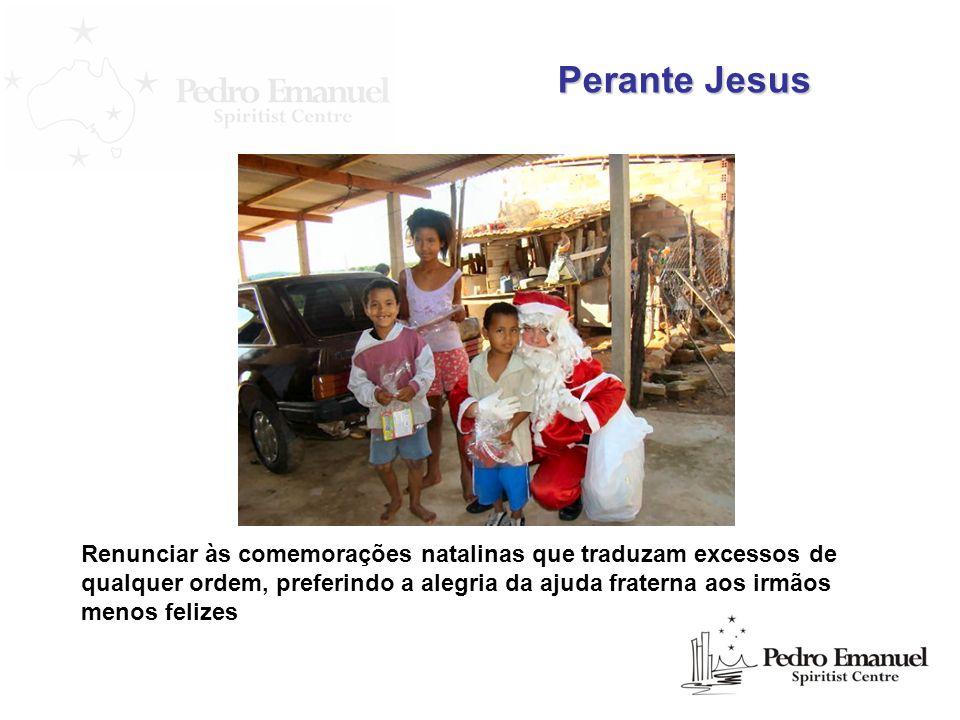 Perante Jesus