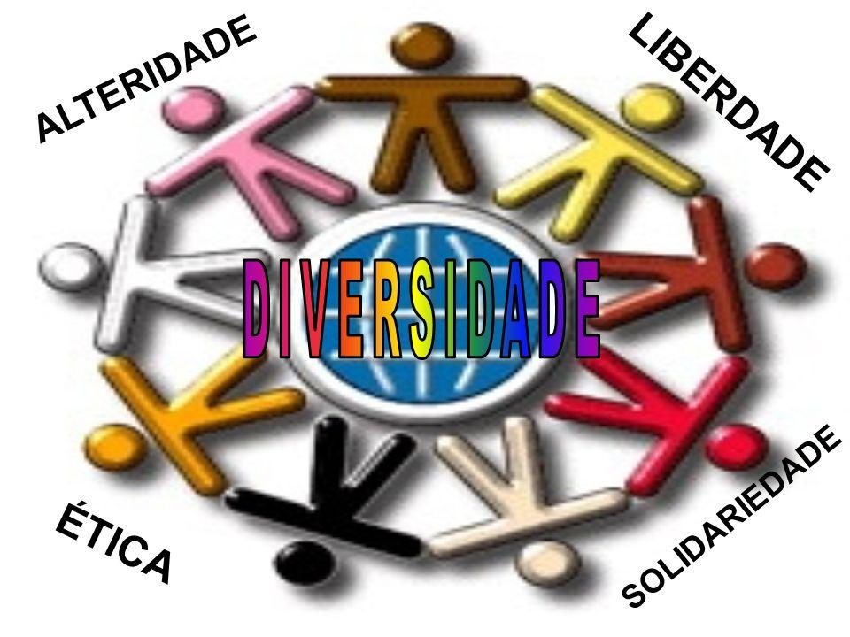 ALTERIDADE LIBERDADE DIVERSIDADE SOLIDARIEDADE ÉTICA