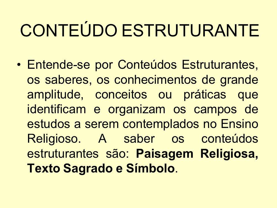 CONTEÚDO ESTRUTURANTE