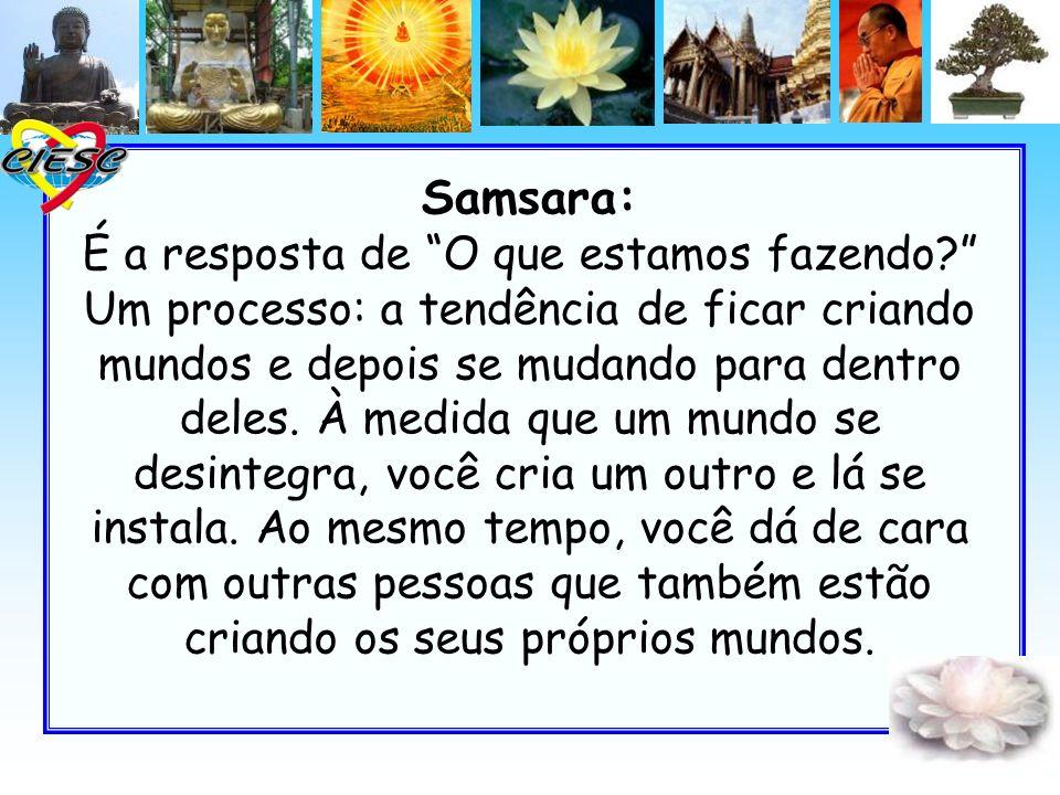 Samsara: É a resposta de O que estamos fazendo