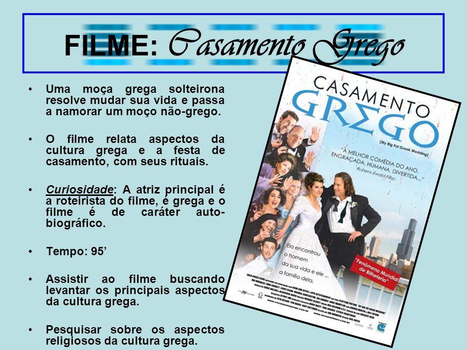FILME: Casamento Grego