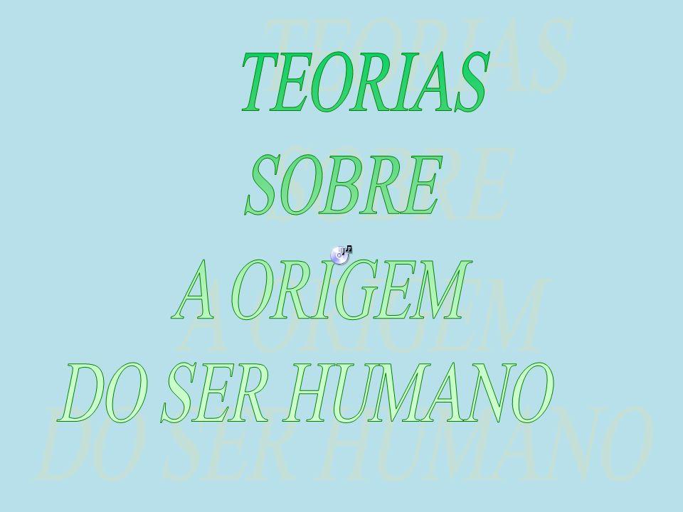 TEORIAS SOBRE A ORIGEM DO SER HUMANO
