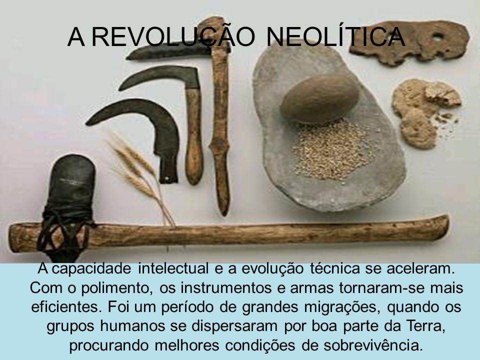 A REVOLUÇÃO NEOLÍTICA