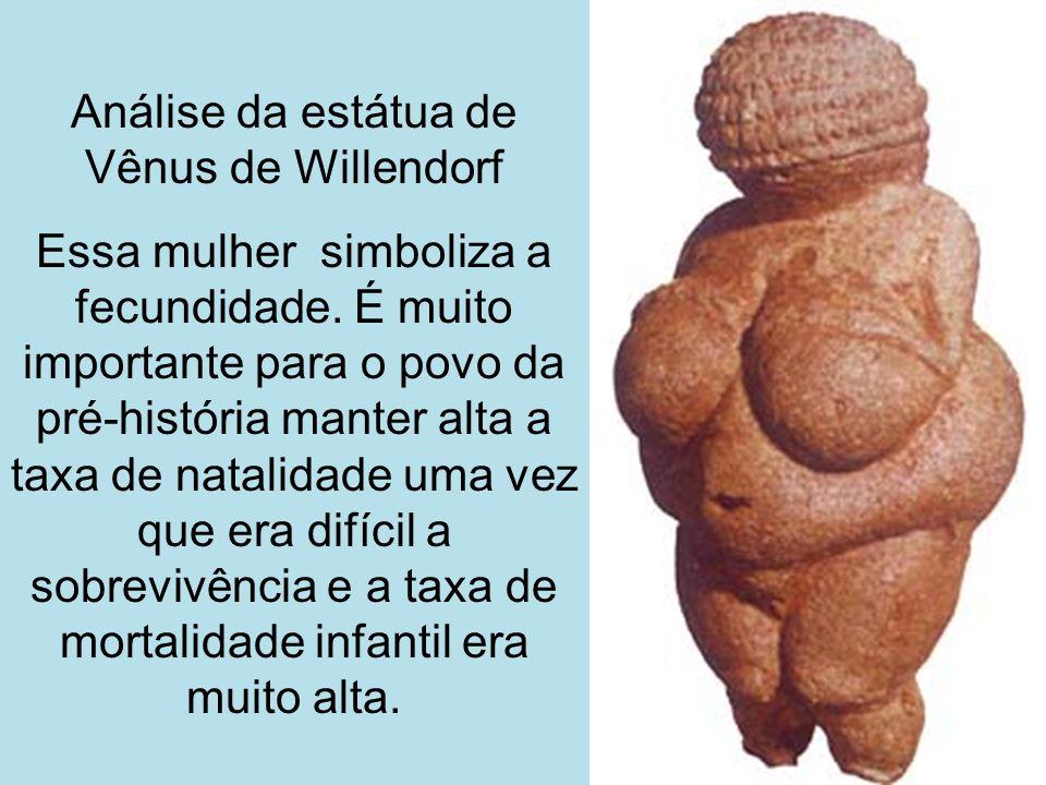 Análise da estátua de Vênus de Willendorf
