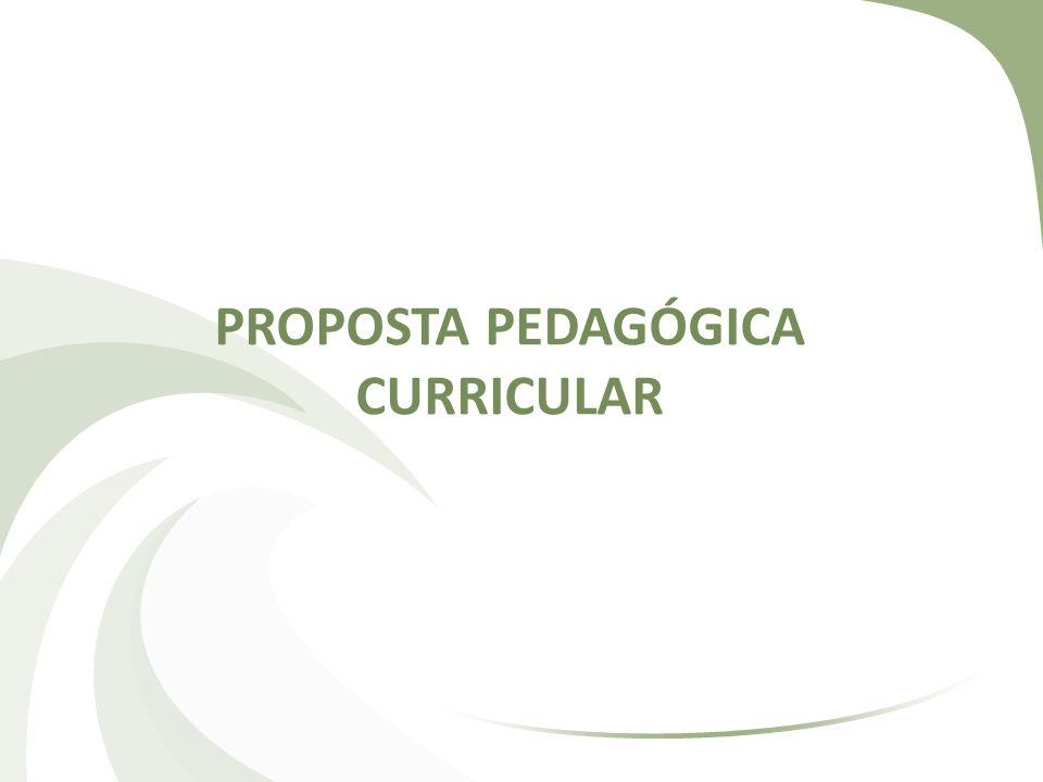 PROPOSTA PEDAGÓGICA CURRICULAR