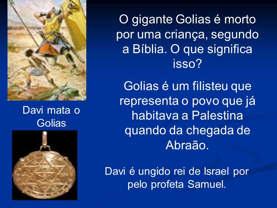 Davi é ungido rei de Israel por pelo profeta Samuel.
