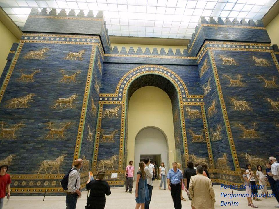 Portas de Ishtar Pergamon Museum Berlim 31