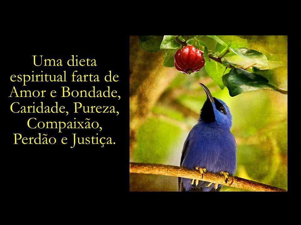 espiritual farta de Amor e Bondade, Caridade, Pureza, Compaixão,