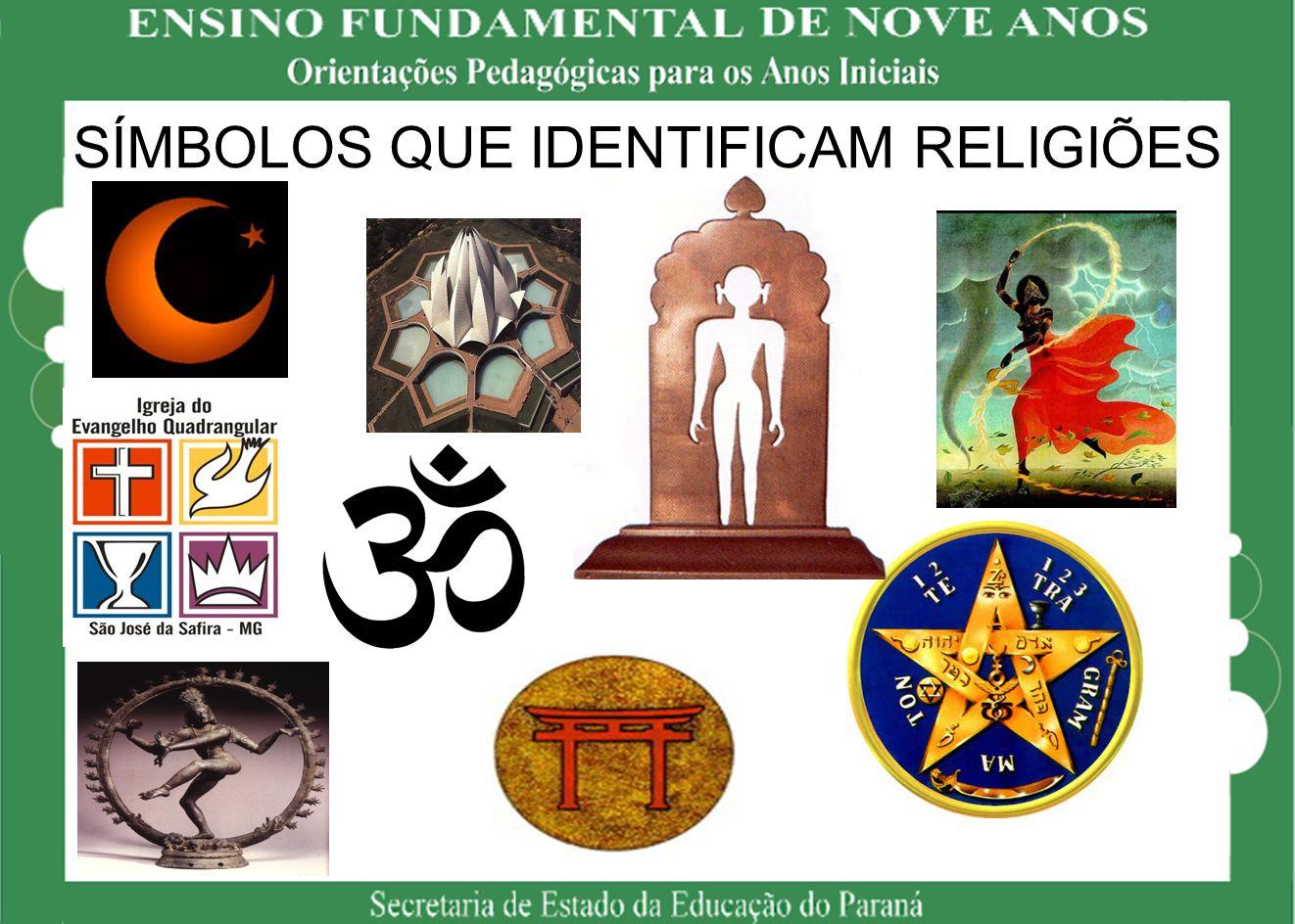 SÍMBOLOS QUE IDENTIFICAM RELIGIÕES