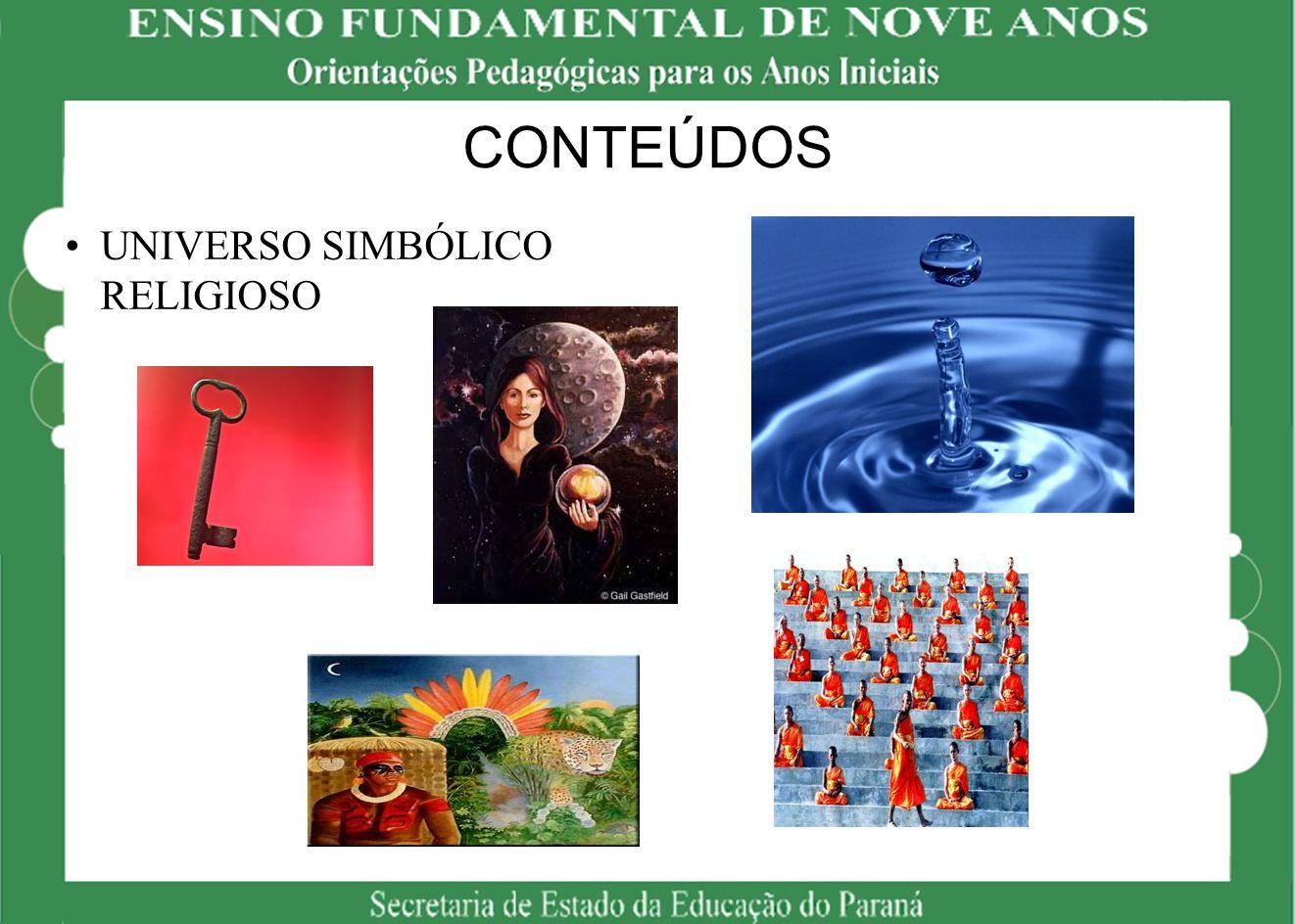 CONTEÚDOS UNIVERSO SIMBÓLICO RELIGIOSO